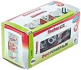 fischer 535452 Duopower 5X25 DIY, Gris, Set de 100 Piezas