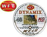 WFT Round Dynamix Wels braun 220m, geflochtene Angelschnur, Welsschnur, Schnur zum Wallerangeln,...