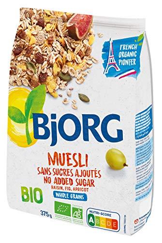 BJORG Muesli Senza Zuccheri Aggiunti Bio 375 G