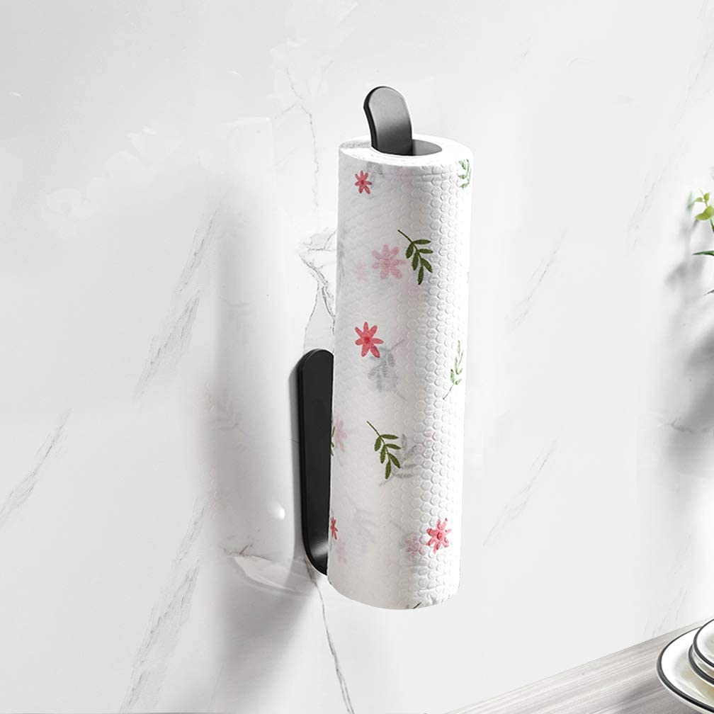 Rapid rise Self Adhesive Paper Opening large release sale Towel Holder Green Pape Tree US No Drilling