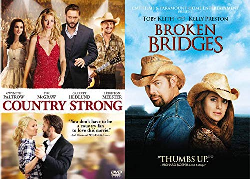 Contemporary Country Classics: Country Strong + Broken Bridges (DVD Country Bundle/ 2 Feature Films)