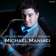Mozart Arias for Male Soprano by Pearlman, Boston Baroque, Maniaci (2010) Audio CD