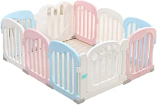 Foldable Parks Baby Baby Baby Crawling Fence Fence for Baby  Color  Macaroon Color