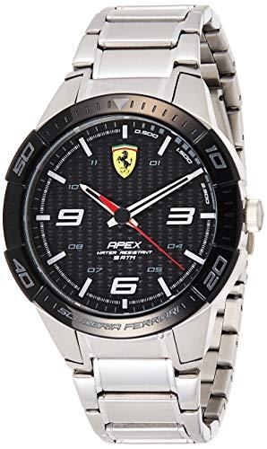 Scuderia Ferrari Orologio Analogico Quarzo Uomo con Cinturino in Acciaio Inox 830641