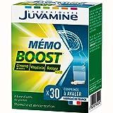 JuUVAMINE - Memo Boost Mémoire Concentration - 30 Comprimés à Avaler