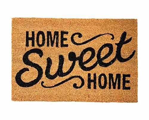 TIENDA EURASIA Felpudo Entrada CASA Alfombra Entrada Sweet Home
