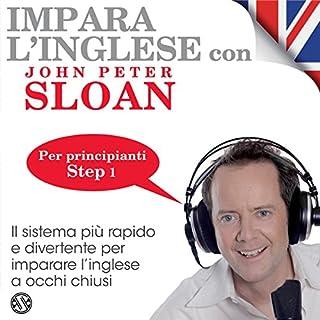 Impara l'inglese con John Peter Sloan - Step 1 copertina