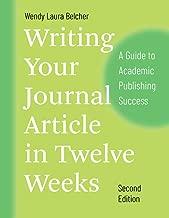 write journal article in 12 weeks