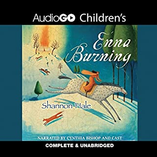 Enna Burning audiobook cover art
