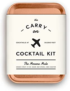 W&P MAS-CARRYKIT-MM Carry on Cocktail Kit, Moscow Mule,...