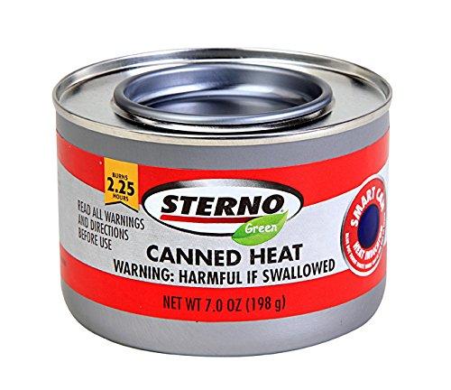 Sterno Canned Heat Ethanol Gel Chafing Fuel - 6.1oz