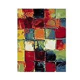 OUUED Tejedores artísticas marroquí rústica Abstract alfombra...