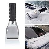 Balai Auto 12V Schnee Eiskratzer, Auto-elektrische erhitzte Auto Windschutzscheibe Fenster Eiskratzer für Autos LKW-SUV