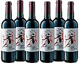Marqués de Longares - Vino Tinto joven Garnacha - D.O. Cariñena - Añada 2018 - 750ml - Caja 6 botellas