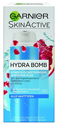 Garnier SkinActive Hydra Bomb 3in1 Tagespflege, intensiv feuchtigkeitsspendende und antioxidative...