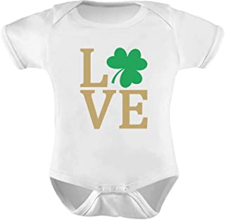 Tstars - Irish Clover Love St Patrick's Day Cute Irish Baby Bodysuit