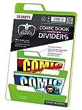 Ultimate Guard Premium Comic Book Dividers Separadores para Cómics Verde (25)