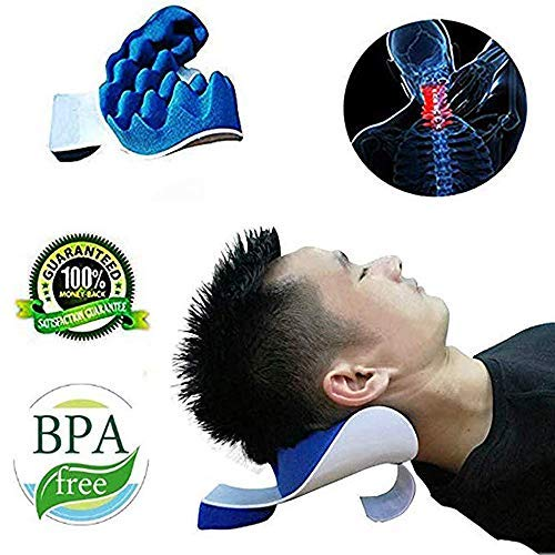 Tcbasrt Neck and Shoulder Relaxer,Neck and Shoulder Pain Relief and Support Massage Traction...