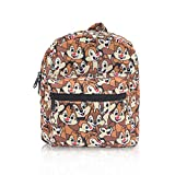 Finex Chip and Dale All Over Print Small Nylon Bag Multipurpose Causal Daypack for Travel Trip Shopping Tablet iPad Mini up to 8 inches