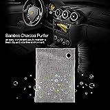Shipenophy Bambuskohle Tasche Gerüche Küche Kleiderschrank für Auto Schlafzimmer Keine schädlichen Zusatzstoffe(Grey)