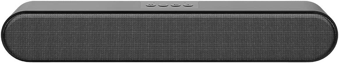 Portable Compueter Speaker, Wired Stereo Sound USB Speaker Multimedia Speaker Support for Computer Laptop Desktop PC Smartphone (No Light)