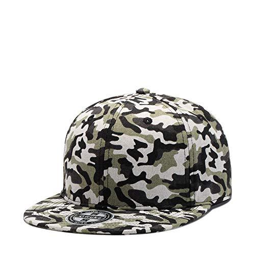 wopiaol Cappello Nuovo Berretto da Baseball Primaverile ed Estivo Camouflage Uomo con Cappuccio Hip-Hop di Tendenza Europea e Americana