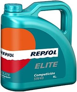 REPSOL ( レプソル ) エンジンオイル 【Competicion コンペティション】 5W40 SM/CF 100%化学合成 4L 007052