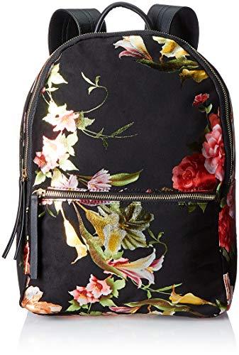Pieces Pcfelice Backpack Dc, Sacs portés dos femme, Noir (Black), 13x15x25 cm (B x H T)