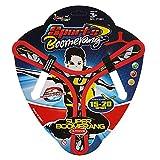 Boomerang - Boomerang Flying giocattolo per bambini (rosso, 31)