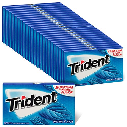Trident Sugar Free Gum Original, 14Piece Pack (24 Pack)