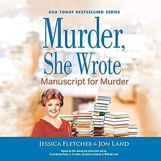 Murder, She Wrote: Manuscript for Murder cover art