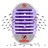 Mosquito Zapper Indoor, Dormily Fly Trap Mosquito Killer Lamp Bug Zapper Fruit Fly Trap for Kitchen Home | Office Insect Killer Plug in Electric With UV Night Light