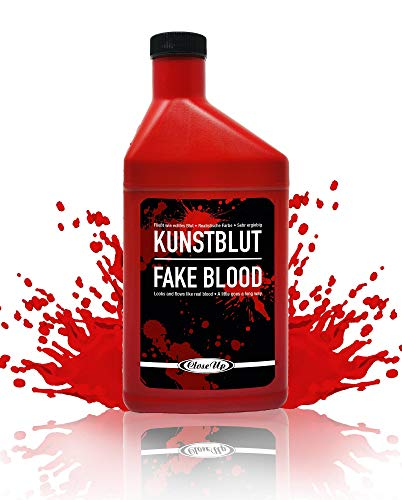Flasche Kunstblut