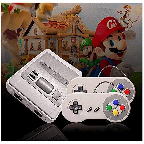 Mini TV Video Game 8 Bit - Console HD 1080P | 621 giochi classici iconici retro vintage Nostalgia 90 | Connessione HDMI | Pronta all'uso | tendenza 2018