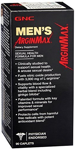 GNC ArginMax 90 Caplets by GNC Men's