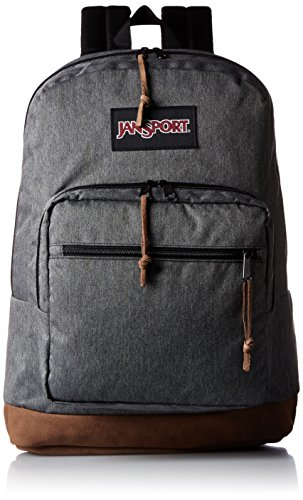 Jansport - Right Pack Digital Edition Student/Laptop Backpack, One Size, BLACK WHITE HERRINGBONE