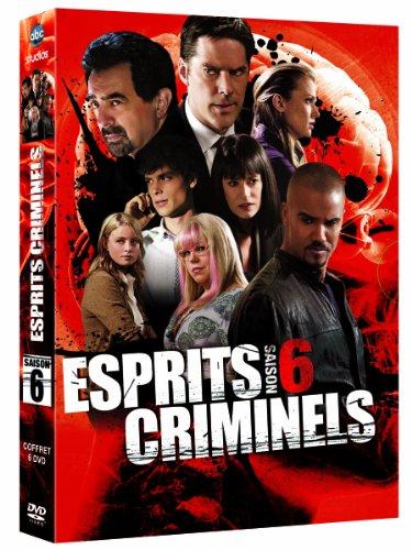 Esprits criminels, saison 6 - coffret 6 DVD