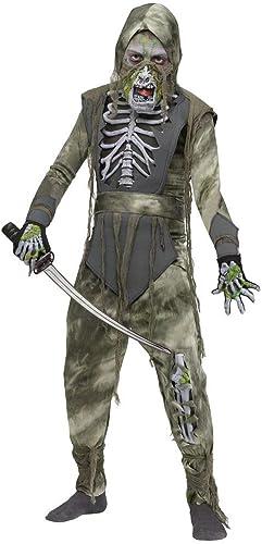 Horror-Shop Zombie Ninja Halloween Kinderkostüm M