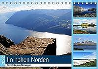 Im hohen Norden - Eindruecke aus Norwegen (Tischkalender 2022 DIN A5 quer): Landschaftsaufnahmen aus Norwegen (Monatskalender, 14 Seiten )