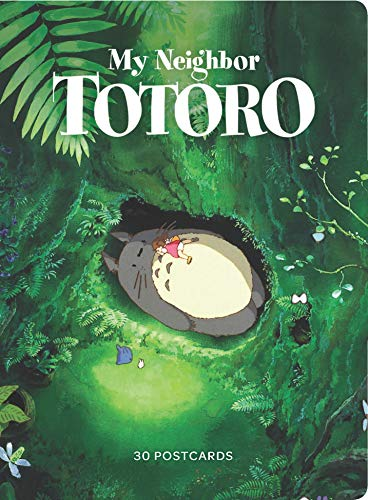 My Neighbor Totoro: 30 Postcards: (Anime Postcards, Japanese Animation Art Cards)