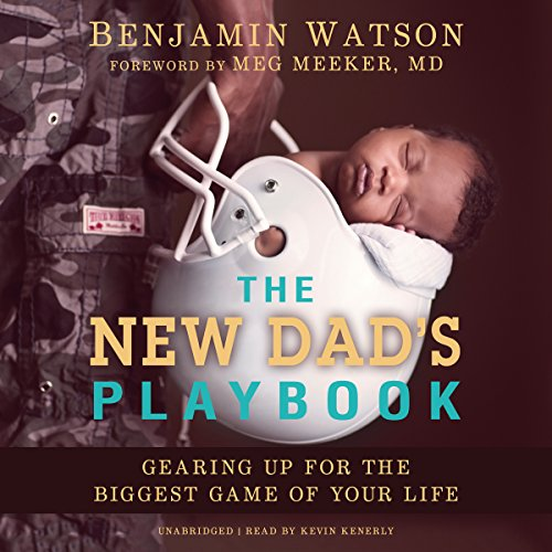 The New Dad's Playbook audiobook cover art