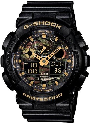 [カシオ] 腕時計 ジーショック GA-100CF-1A9JF ブラック