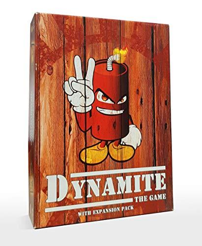 DINAMITA EL JUEGO v2 | Juego de Cartas para Niños y Adultos | Apto para daltónicos | Juegos de Mesa de 2 a 10 Jugadores | Dynamite: The Game v2