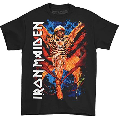 Générique Iron Maiden Vampyr T-Shirt, Noir, (Taille Fabricant: Small) Homme