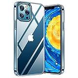 TORRAS Diamond Series für iPhone 12 Pro Max Hülle Extrem Durchsichtig (Vergilbungsfrei) Starke...