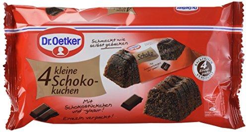 Dr. Oetker 4 kleine Schokokuchen, 5er Pack (5 x 140 g)