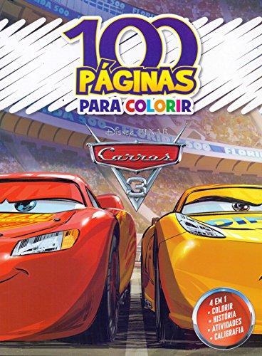 100 Paginas Para Colorir Disney. Carros 3
