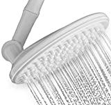"HealthyLifeStyle! Shower Head | Rainfall High Pressure 9.5"" with Adjustable Extension Arm 