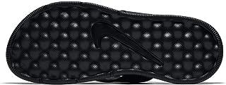 Nike Men's Ultra Comfort Thong Flip Flops (12) Black/White