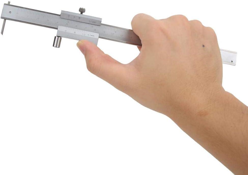 Durable Wear Resistant 0.1mm Parallel Marking Gauge 0-200mm for Measurement Scribing Machining Marking Vernier Caliper
